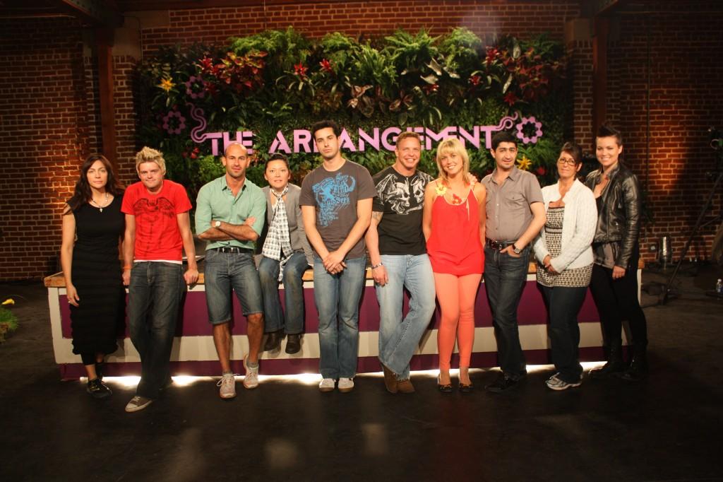 Arrangement group photo