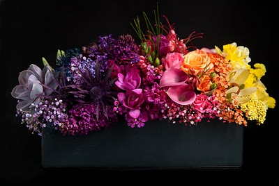 ombre' wedding flowers floral