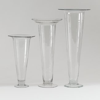 Tall glass vases for centerpieces