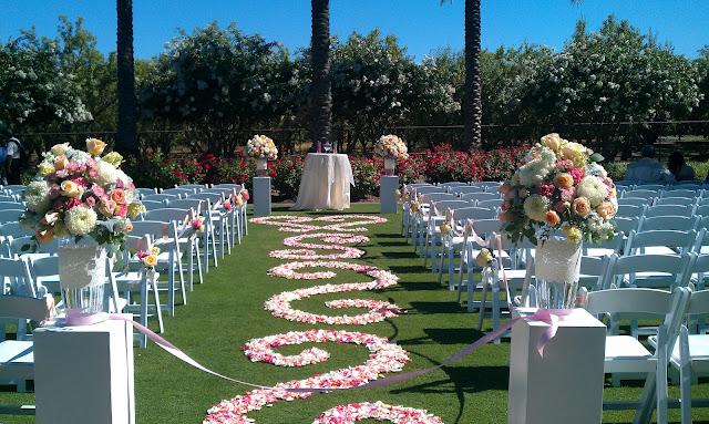 California wedding flowers