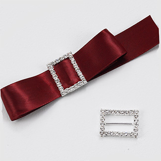 rhinestone buckle for wedding bouquets