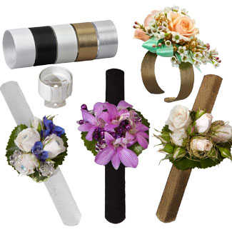 how to make wristlet corsages