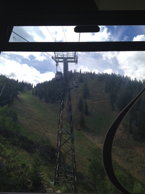 gondola ride in Aspen