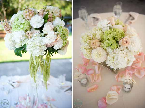 Real wedding by sophisticated floral designs flirty