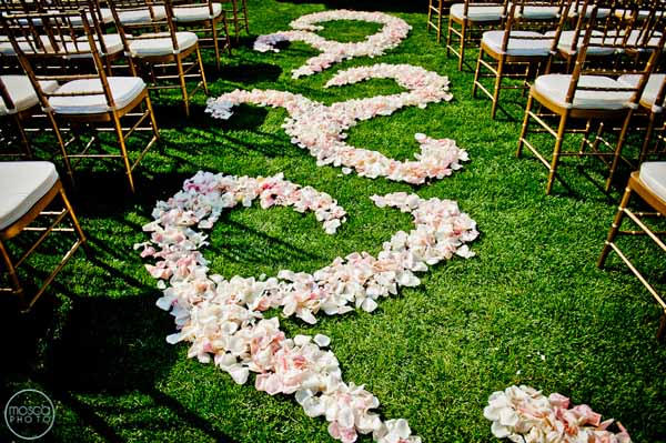 petals in swirl pattern