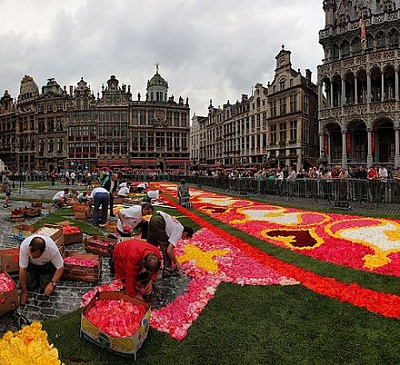 flower carpet of Europe