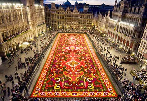 flower carpet of belgium