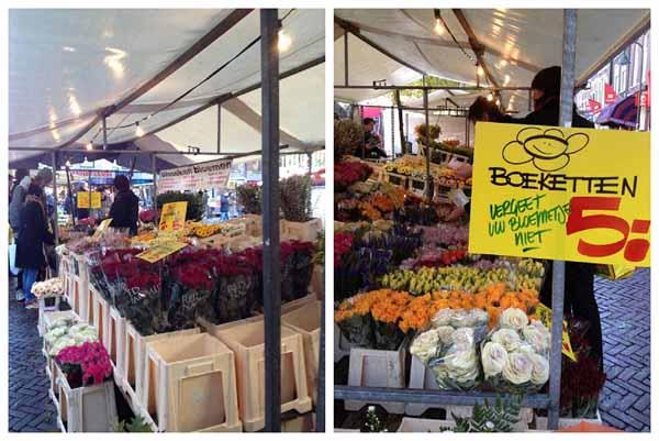 Flower stalls in Holland