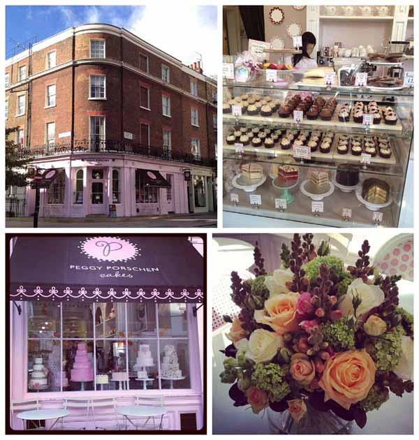 pink cake shop london