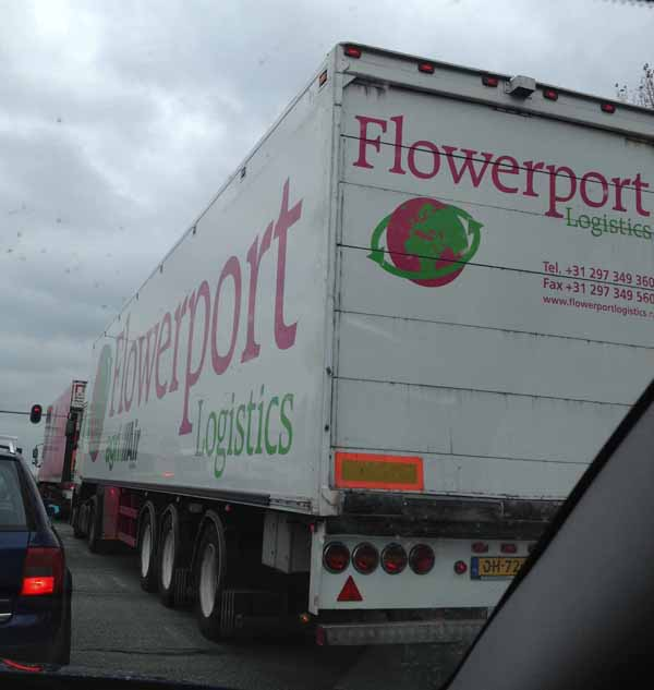 Flower Truck in Holland