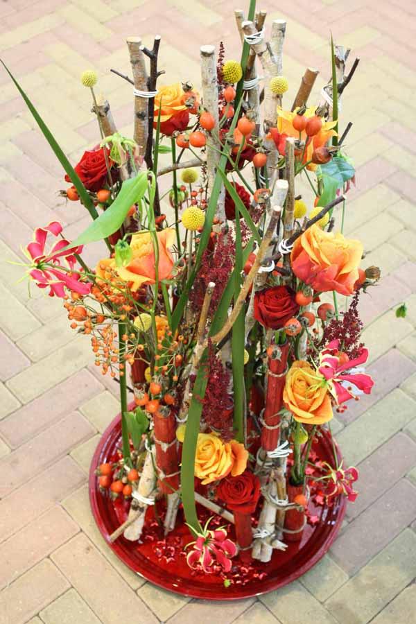 European floral design