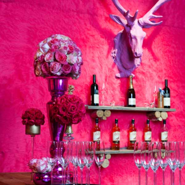 Pink rose arrangements by OnlyRoses
